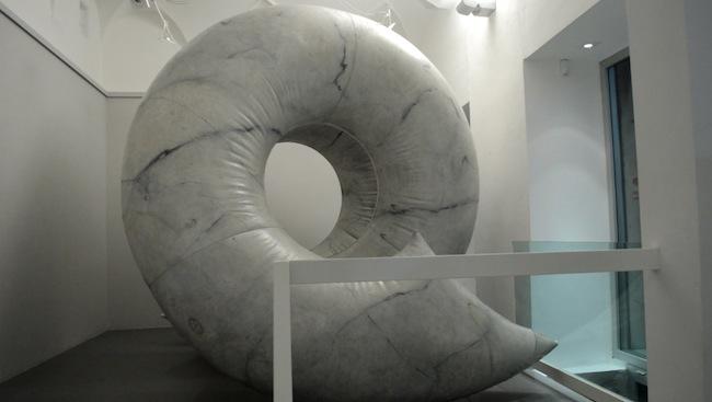 Franco Mazzucchelli, Installazione, esposta per la prima volta alla Quadriennale di Roma del 1986, foto di Simone Savina