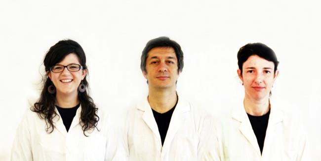 Il team di Tooteko da sinistra: Serena Ruffato, Fabio D'Agnano, Gilda Lombardi