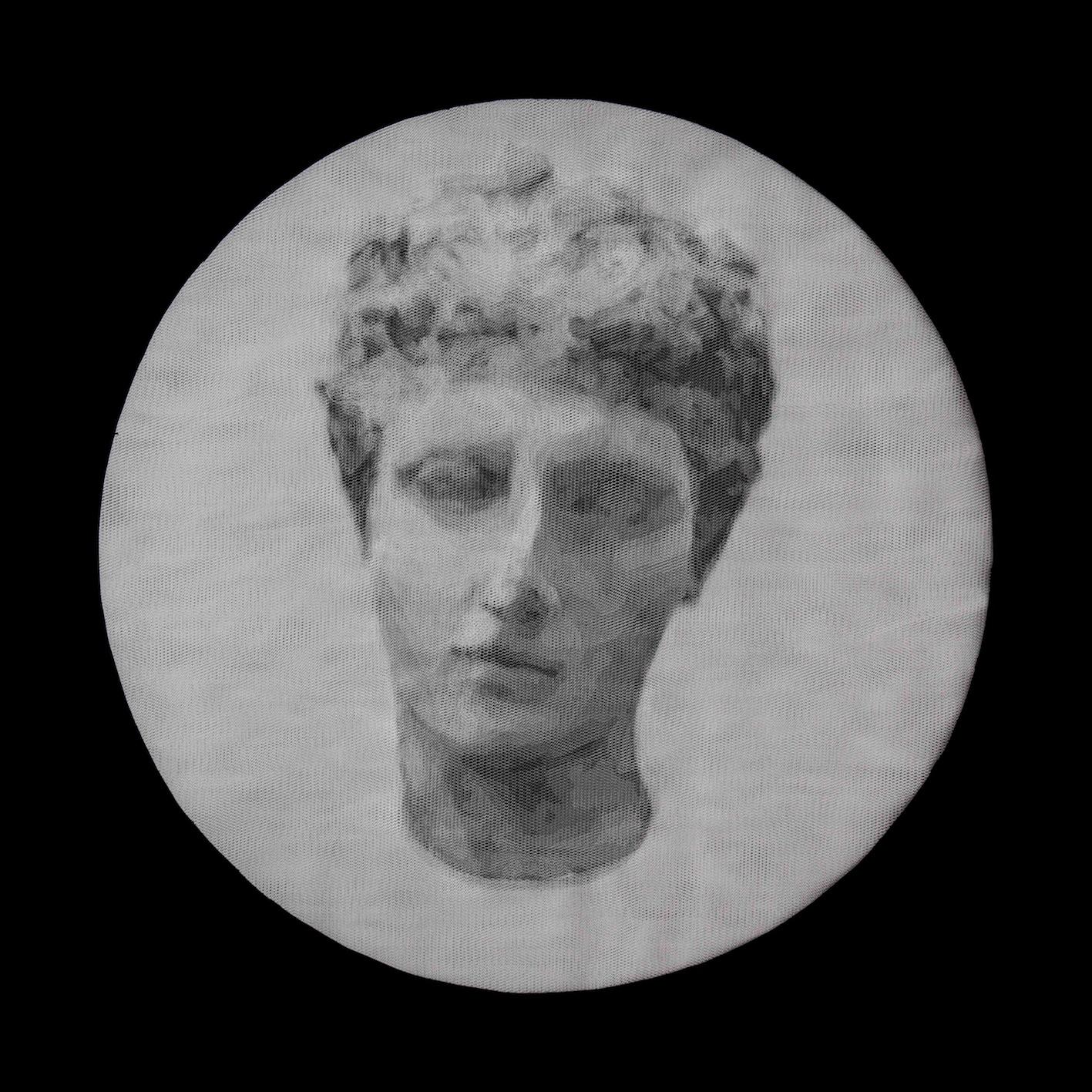 Giorgio Tentolini, Pagan Poetry, 2013, 16 strati di tulle bianco intagliati a mano, 58x42 cm