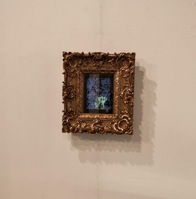 Vincenzo Marsiglia. Riflessione interattiva (veduta della mostra, dettaglio di un'opera), Ex Chiesa di S. Pietro in Atrio, Como