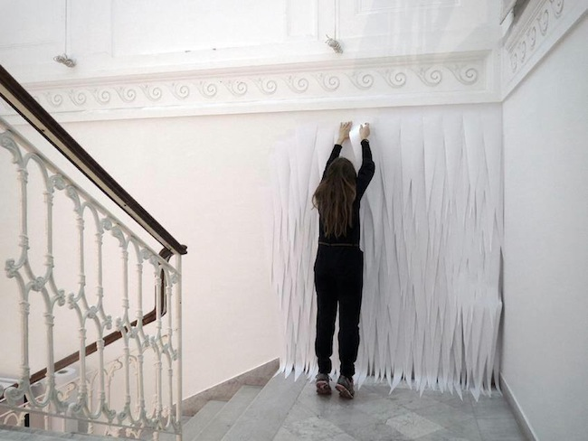 Marit Roland_work in progress_courtesy Villa Croce