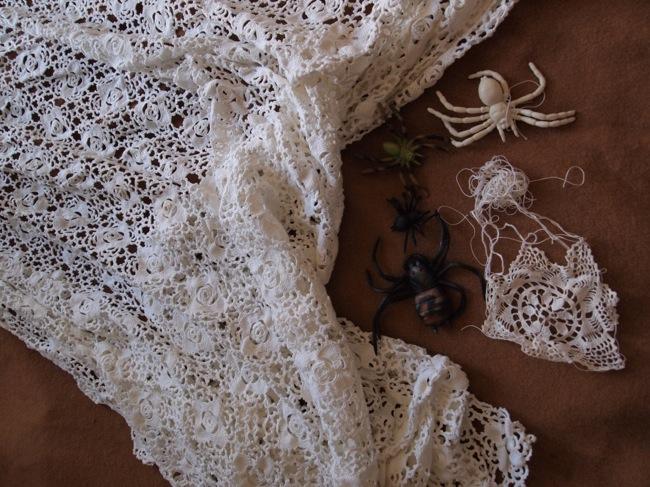 Loredana Galante, con l'aiuto dei ragni tessitori