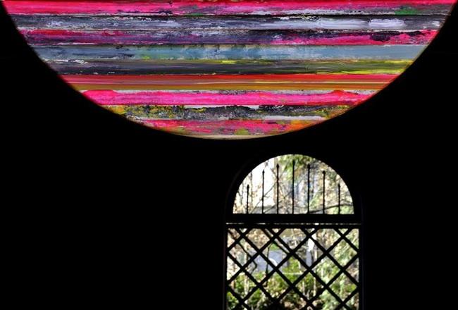 Paolo Bini, Installation view, Casa Ariosto