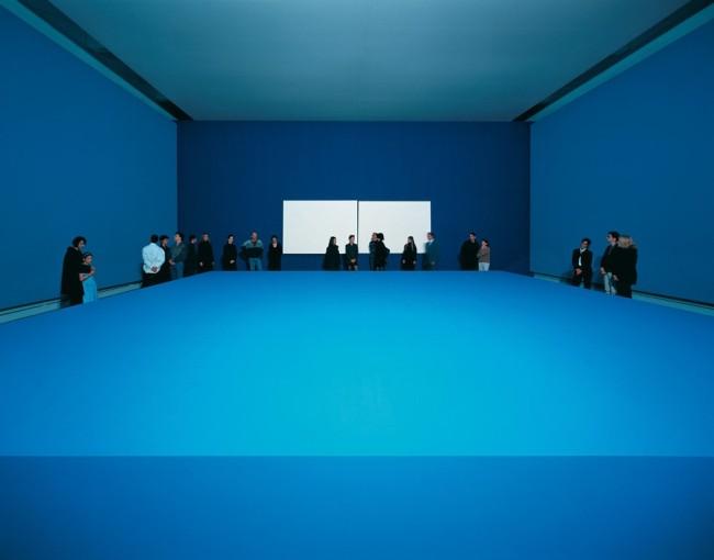 Ettore Spalletti, Sala delle feste, 1998, Musée de Strasbourg, Strasburgo, 1998 Foto Attilio Maranzano (MAXXI, Roma)