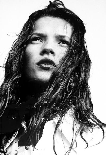 Jurgen Ostarhild, Kate Moss, camber sands, 1991, inkjet print su carta ilford baryt_n 3 di 10_firmato sul retro, cm 40x30