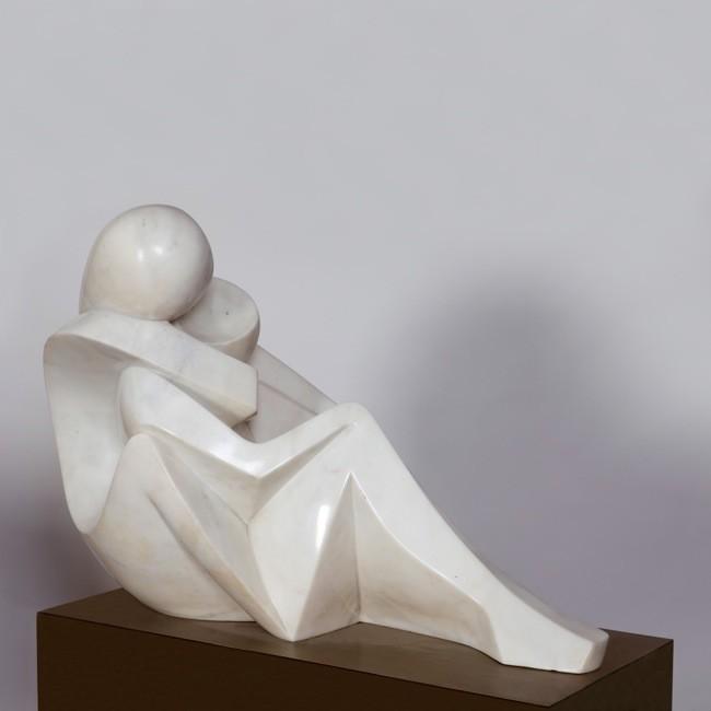 Marina piccola, 61x44x82cm, Marmo bianco di Carrara