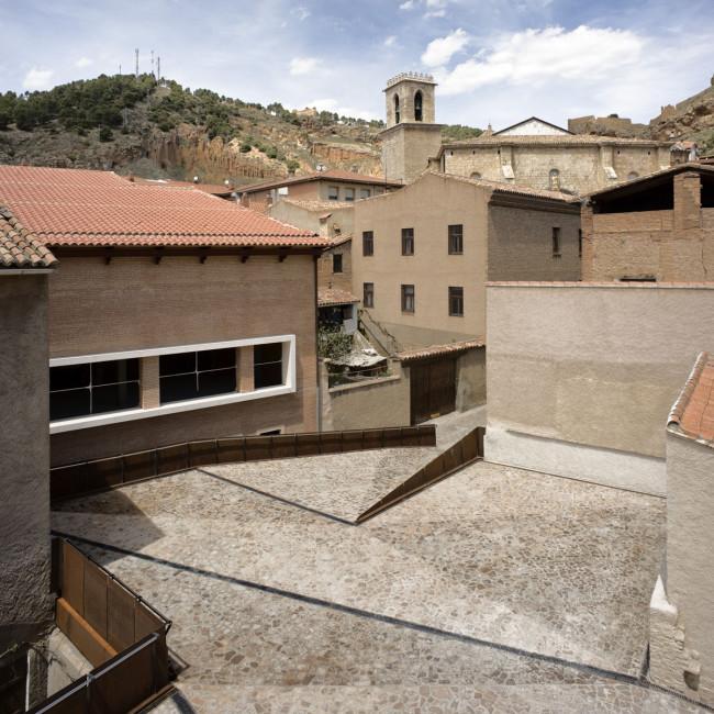 Valorizzazione dello scavo archeologico di Daroca, Saragozza, studio spagnolo Sergio Sebastián architects vincitore Premio Domus