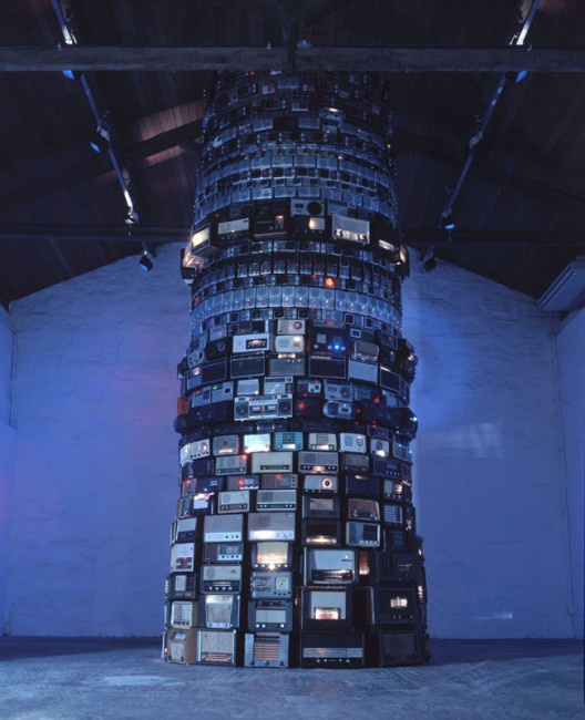 Babel, 2001, Mixed media, Dimensioni variabili
