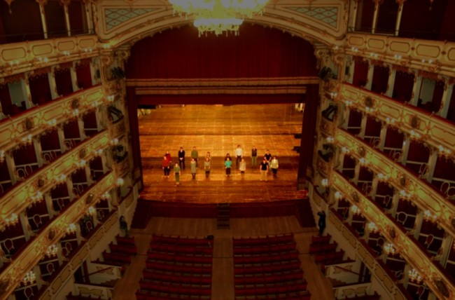 Ettore Favini, Ipotesi di finito#4 – 2013/14 (Teatro Ponchielli) Courtesy Ettore Favini / Distretto Culturale di Cremona