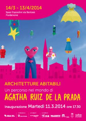 Agatha Ruiz de la Prada, Architetture abitabili, locandina