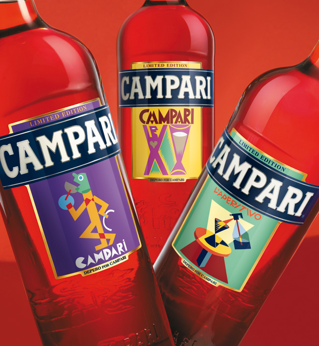Campari, Art Labels 2014, Depero