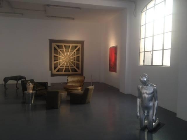 Spazio Privato, anteprima dell'allestimento, Galleria Bonelli, Milano