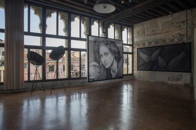 Anne-Karin Furunes, Shadow, 2014, veduta dell'installazione