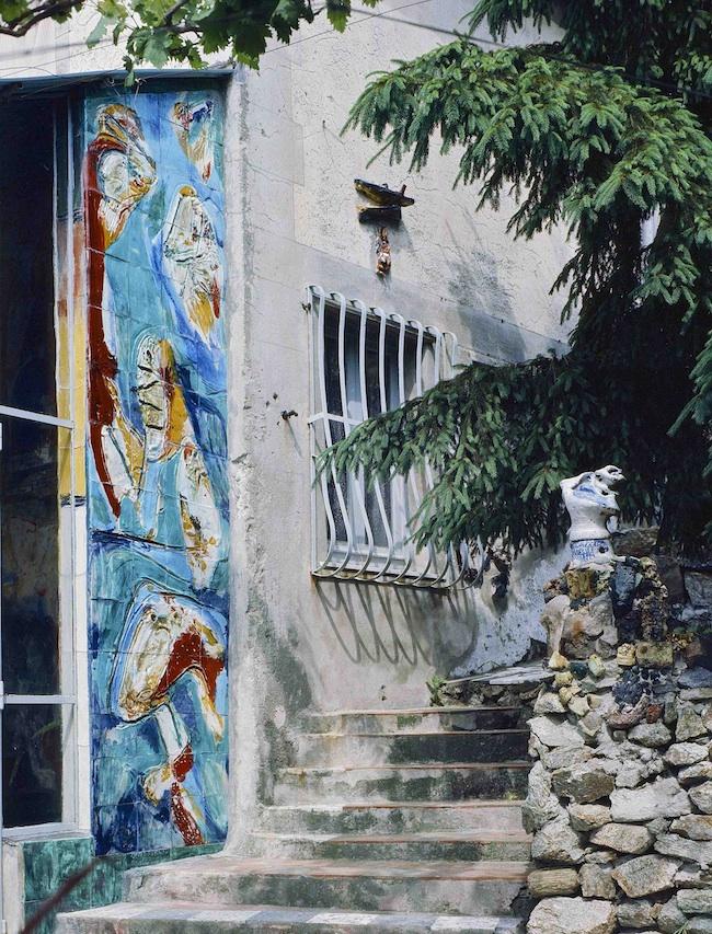 Veduta esterna della Casa Museo Jorn. Foto Bartoli
