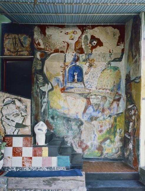 Veduta della Casa Museo Jorn