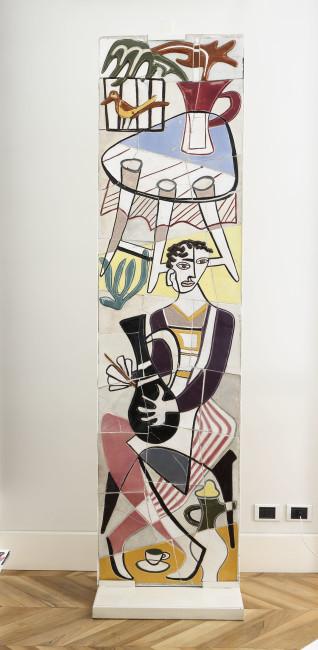 Antonia Campi, Pannello realizzato per l'ingresso del negozio Società ceramica italiana di Firenze, 1950 Courtesy Atelier Daniela Gerini