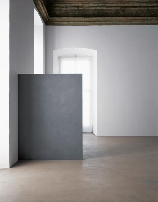 Ettore Spalletti, Presenza stanza 1978 impasto di colore su tavola 270 x 180 x 3 cm fotografia: Paolo Pellion