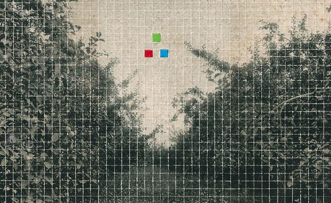L'orMa, rgb, 8x13cm, intervento manuale su fotografia antica