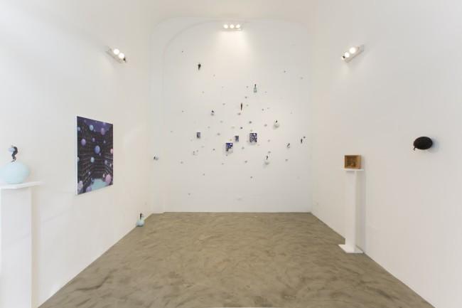 Pino Deodato. Senza parole, panoramica della mostra, Giuseppe Veniero Project, Palermo