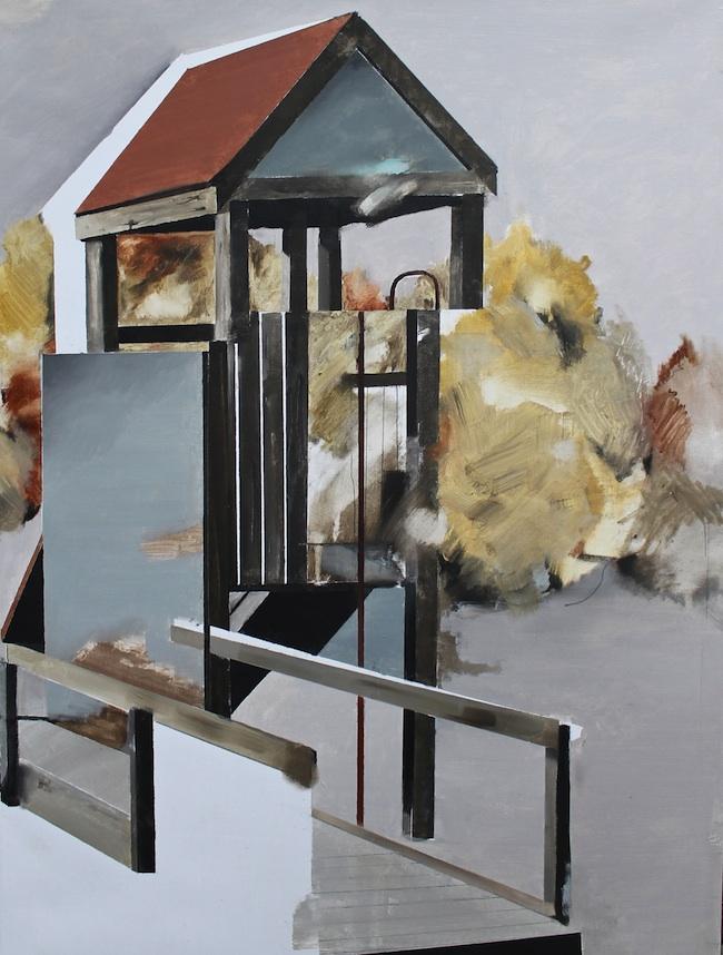 Playground (6), 2013, olio su tela, cm 60x80