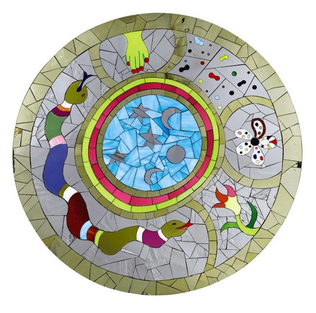 Niki de Saint-Phalle, Table Serpents