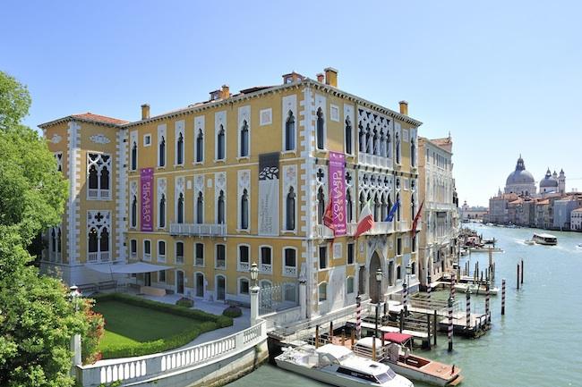 Veduta esterna dello IED Venezia, Palazzo Franchetti