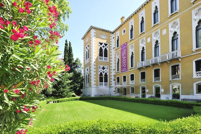 Veduta dello IED Venezia, Palazzo Franchetti
