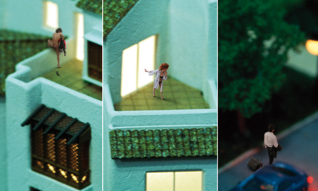 Xing Danwen, Urban Fiction #23, 2005 (detail)
