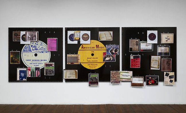 Allen Ruppersberg, FOR COLLECTORS ONLY (everyone is a collector), installation view, 2014, Green Grassi Gallery, London