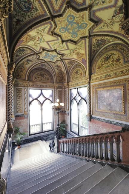 Veduta interna di Palazzo Franchetti, Venezia