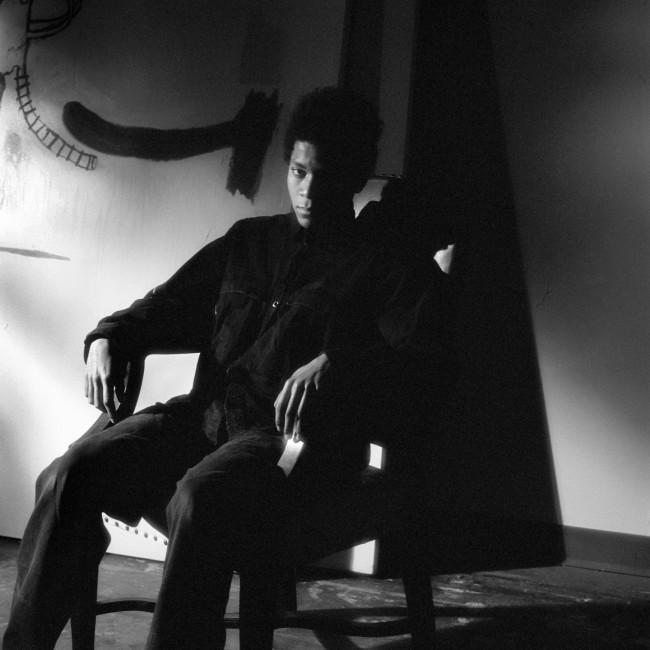 Jeannette Montgomery Barron, Jean-Michel Basquiat, studio, NYC, 1985 © Jeannette Montgomery Barron