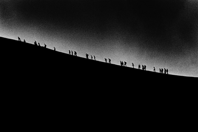 Renato D'Agostin, Etna, 2013, sali d'argento, 30x40 cm, ed. 5/25 Courtesy mc2gallery