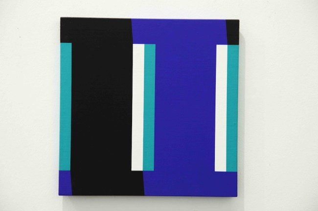 Giuliano Barbanti, Interferenze, 1999, 35x35 cm Courtesy Lorenzelli Arte, Milano
