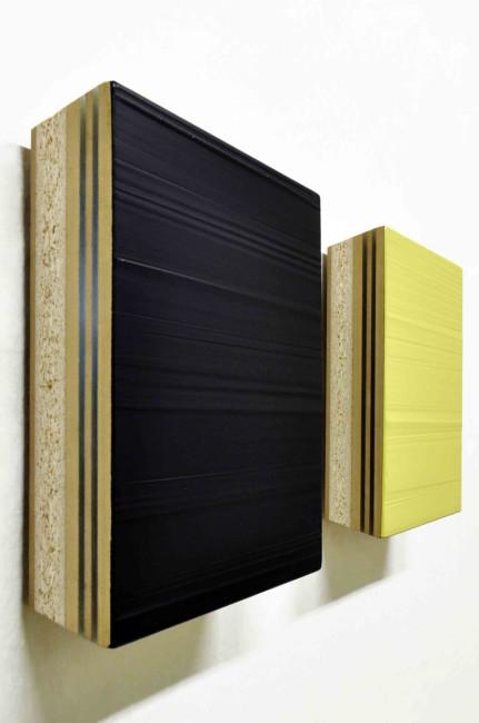Domenico D'Oora, Untitled n, 2014, acrilico, plexiglass e mdf