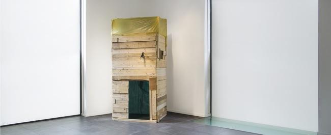 Thomas Berra, Casabarata, 2014, Banca Sistema Arte, veduta della mostra