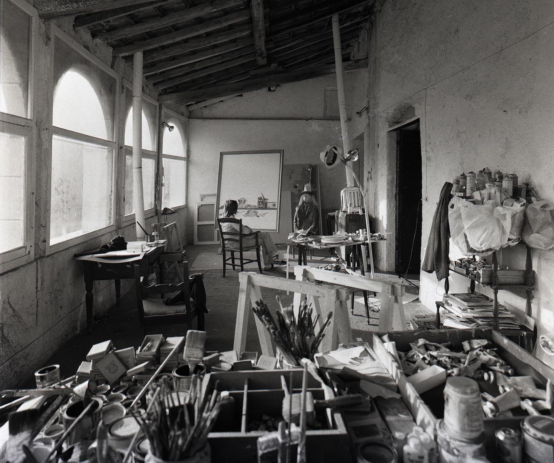 Aurelio Amendola, Aldo Mondino, Parigi, 1973