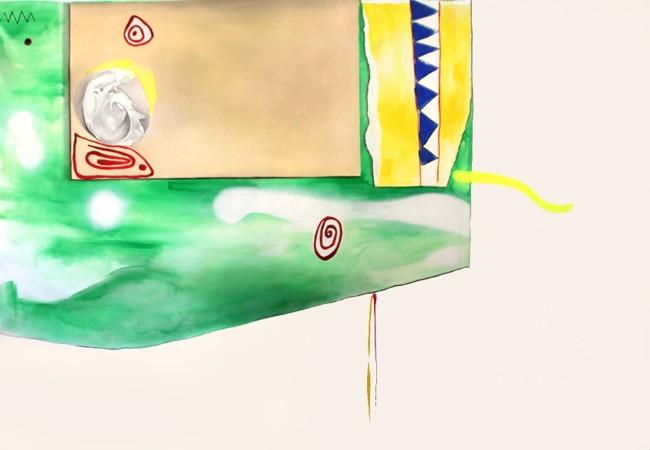 Matteo Antonini, Cartone, 2014, olio su tela, 180x155 cm Courtesy Galleria Carta, Monza