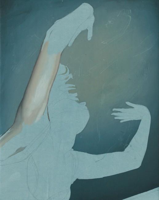 Luca Reffo, The Passage, 2014, olio su tela, 24x30 cm
