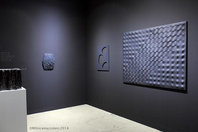 Art Basel 2014, stand Massimo De Carlo. Foto MOnica mazzoleni