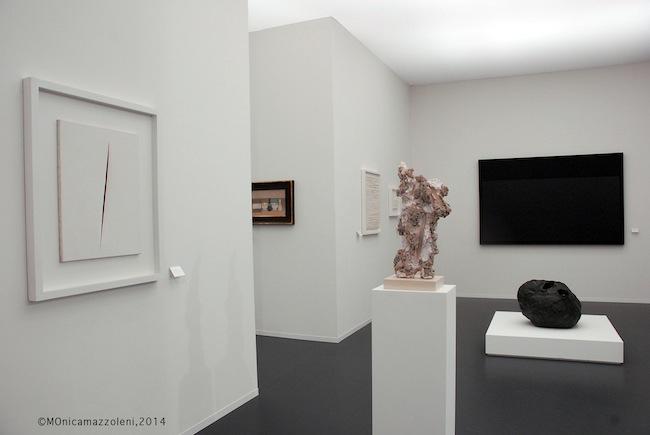Art Basel 2014, stand Galleria dello Scudo. Foto MOnica mazzoleni