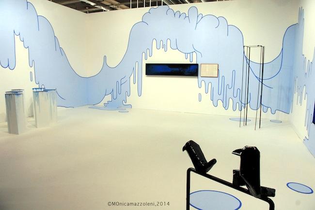Art Basel 2014, stand Kaufmann Repetto. Foto MOnica mazzoleni