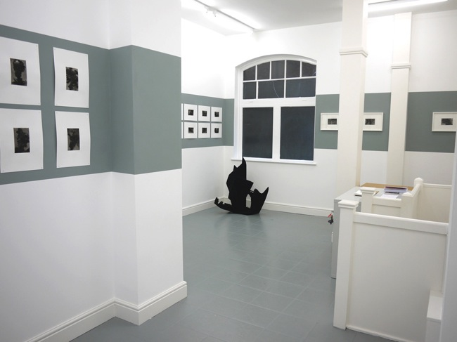 Installation view of Richard Ducker: Dark Matter (March 2013) Courtesy of dalla Rosa Gallery and the Artist, all rights reserved