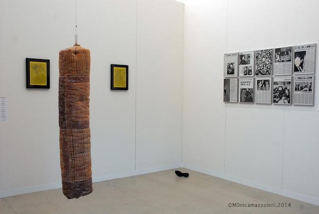 Liste 2014, stand Galleria Fonti. Foto MOnica mazzoleni