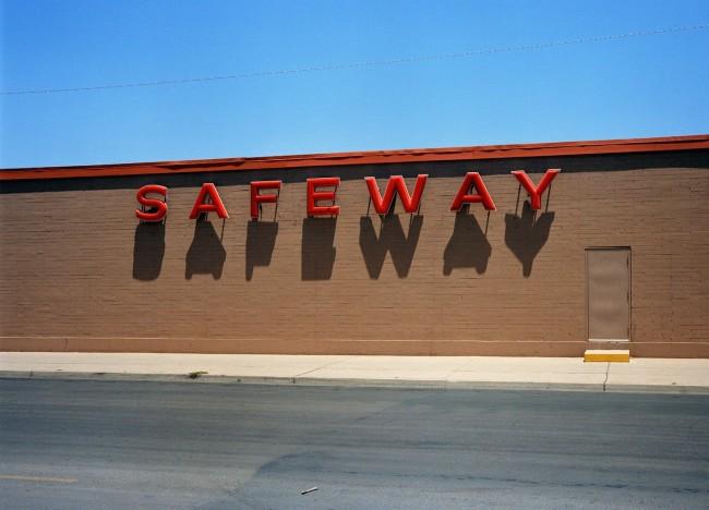 Wim Wenders, 'Safeway', Corpus Christie, Texas, 1983, C Print, 178x210 cm 1999 © Wim Wenders / Wenders Images