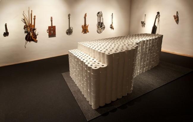 Ken Butler, Hybrid Instruments, 1978-2002 e Walter Marchetti, Musica da camera n° 211, 1991