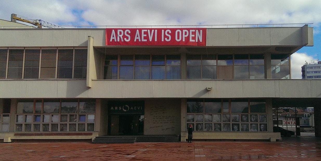 Ars Aevi, particolare dell'invito, Museo Pecci Milano, Milano