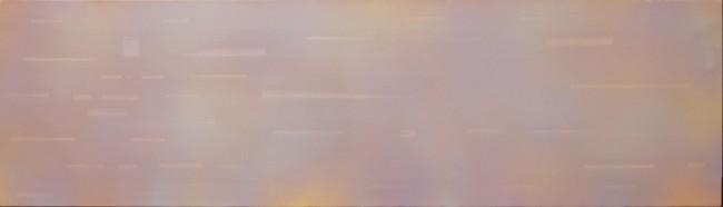 Carlo Battaglia, Senza titolo, 1978, olio su tela, 200x100 cm