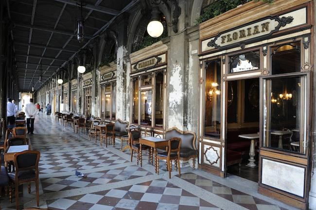 Caffé Florian, ingresso