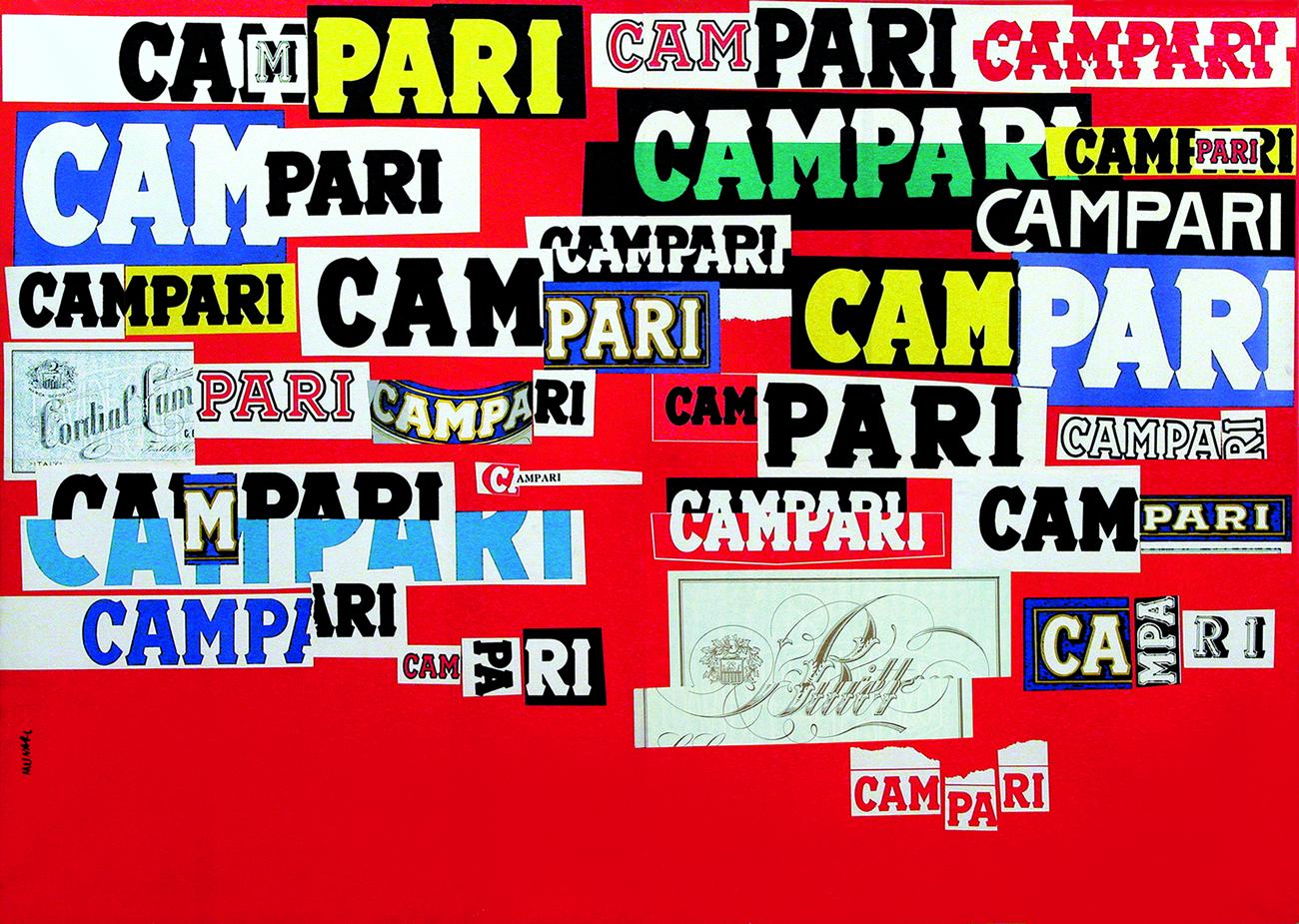 Bruno Munari, Manifesto Campari, 1964