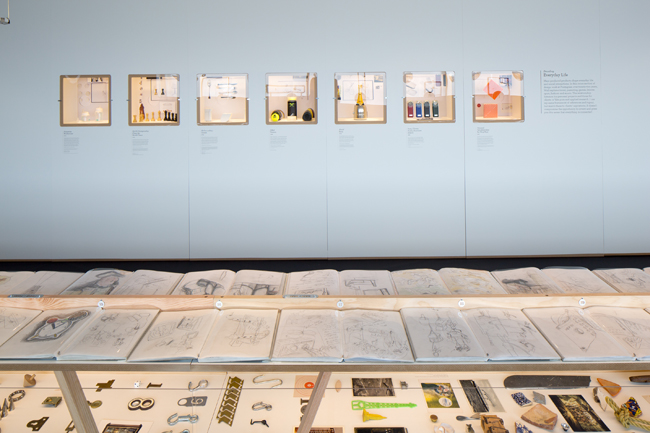 TIME MACHINES: DANIEL WEIL AND THE ART OF DESIGN Time Machines facing wall © Luke Hayes